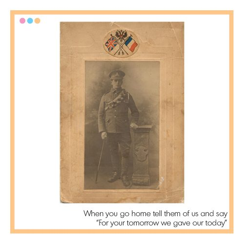 WW1 Soldier KIA - Remembrance Sunday